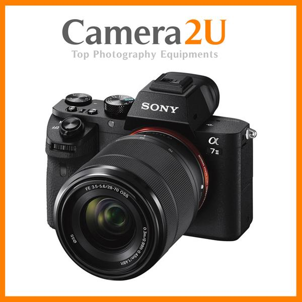 NEW Sony Alpha A7 MK II M2 Body + 28-70mm + 16GB (Sony MSIA)