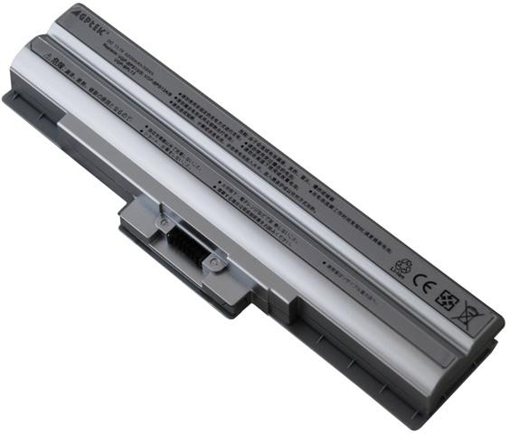 NEW SONY BATTERY FOR VAIO VGN-AW11M/H VGN-AW19 VGN-AW235J/B (Silver)
