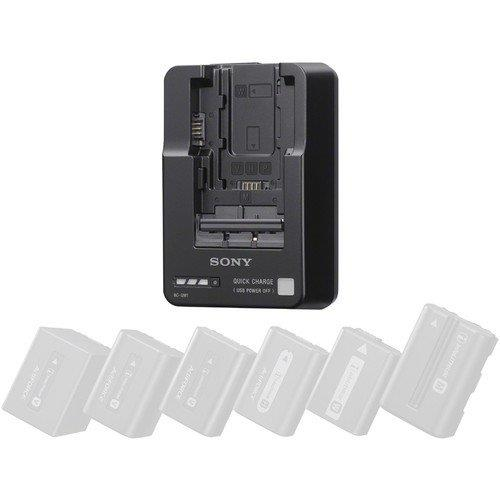 Sony BC-QM1 InfoLithium Battery Charger Multi Charger