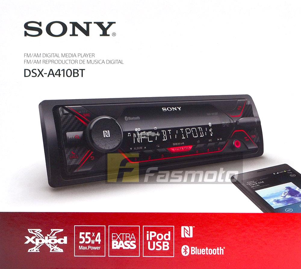 sony dsx a410bt single din dual blue end 1 23 2020 5 15 pm. Black Bedroom Furniture Sets. Home Design Ideas