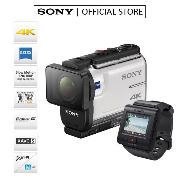 SONY FDR-X3000R ACTION CAMERA WITH LIVE-VIEW REMOTE (WHITE)