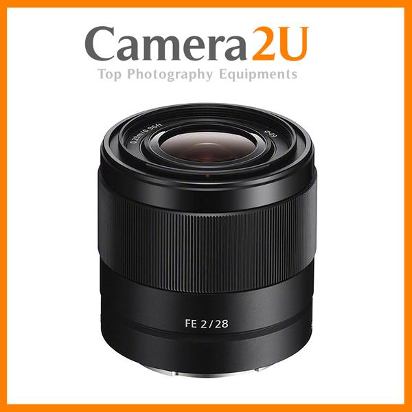 New Sony FE 28mm f/2 E Mount Lens SEL28F20 (Sony MSIA)