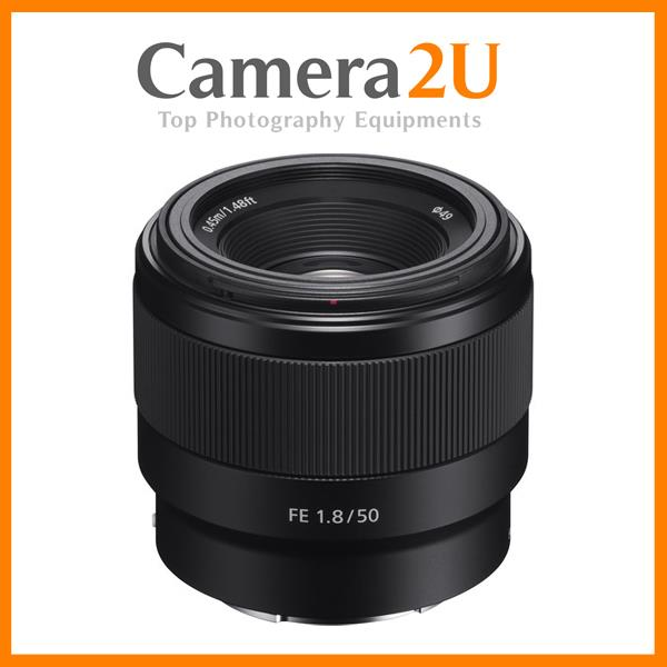Sony FE 50mm F1.8 E Mount Full Frame Lens (Sony MSIA)