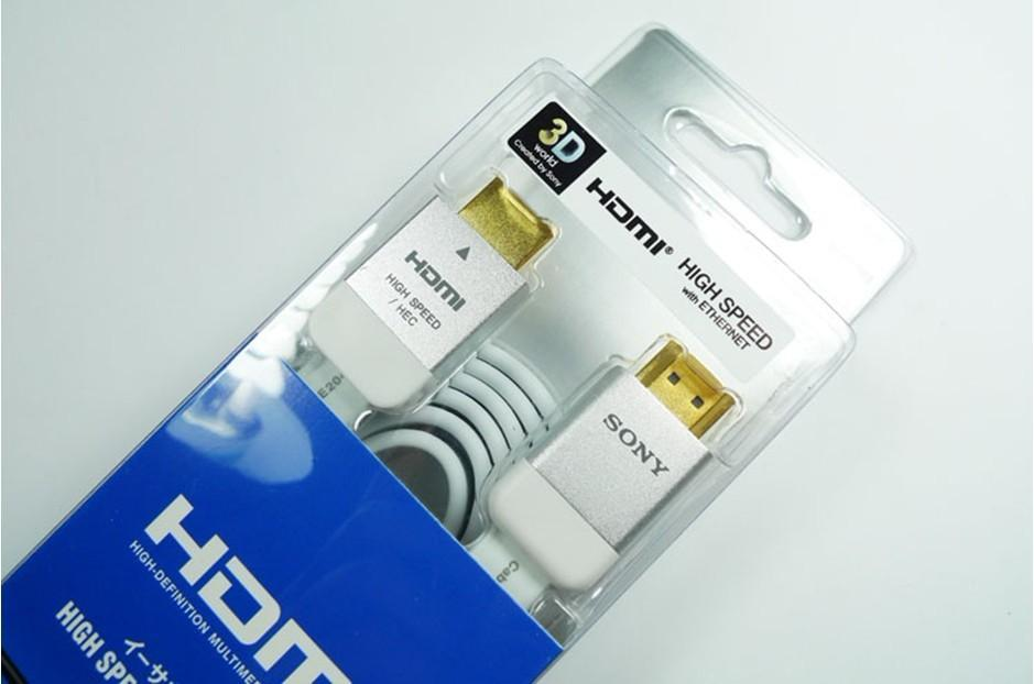 SONY GOLD PLATED 3D v.1.4 HDMI CABLE ( 2 Meter) HIGH SPEED ETHERNET
