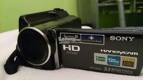 Sony HDR-XR150 120GB Full HD Camcorder video recorder -  2x battery