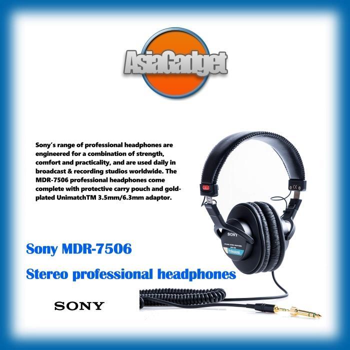 163daf3ec9a Sony MDR-7506 Professional Headphone (end 5/12/2020 7:32 PM)