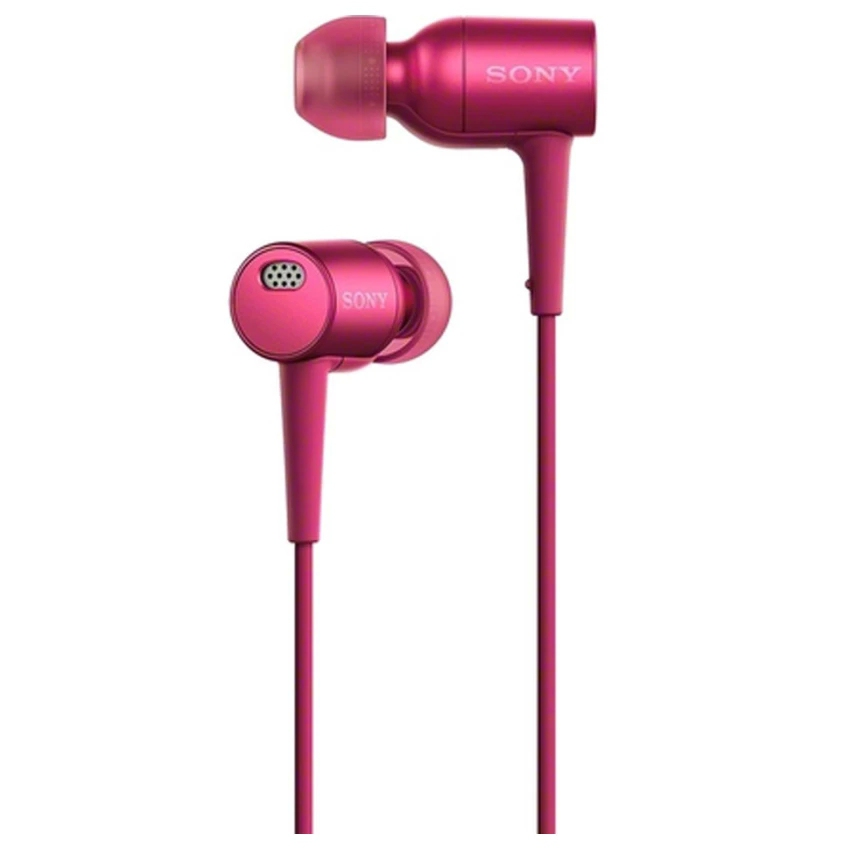 Sony MDR-EX750NA Noise Cancelling In-Ear Headphones with Mic (Pink) &#
