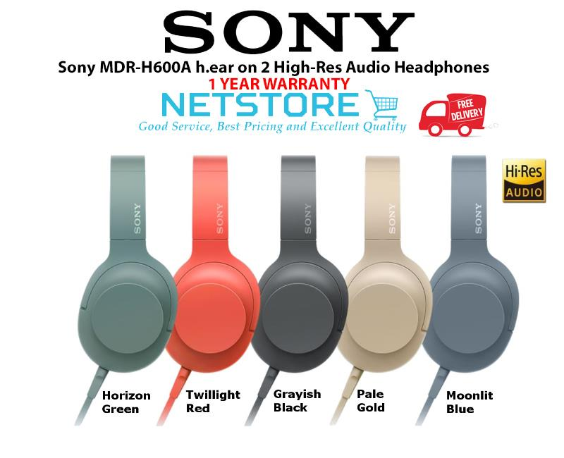 68955c4c6e5 Sony MDR-H600A h.ear on 2 High-Res (end 3/31/2020 11:15 PM)