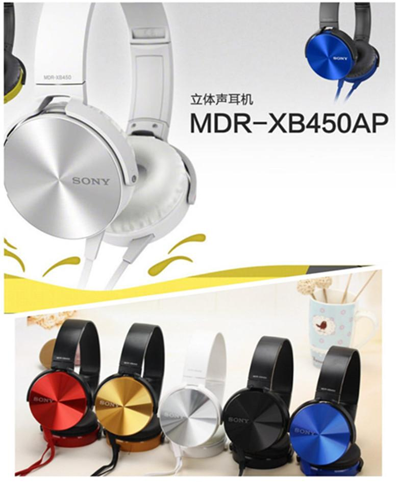 SONY MDR-XB450AP EXTRA BASS Stereo Headphones
