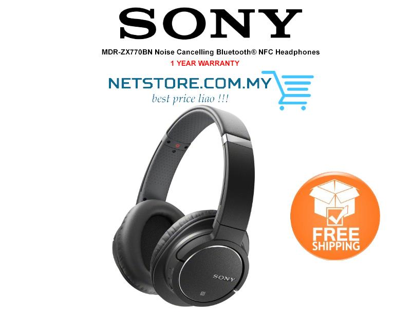 524ee163c7c Sony MDR-ZX770BN Over-Ear Bluetooth Noise Cancelling Headphones. ‹ ›