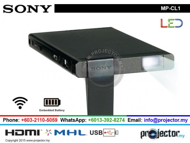 sony laser projector. sony mp-cl1 led laser mobile wireless projector with built in battery sony laser projector