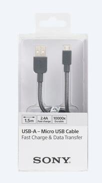 SONY NYLON MICRO USB CABLE 1.5M GRY (CB-ABP150/H-N)?