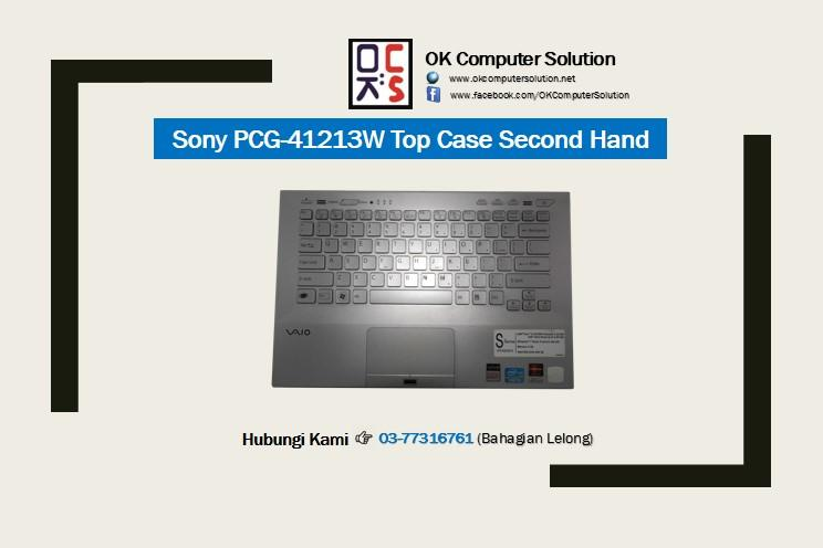 Used Sony PCG-41213W Top Case