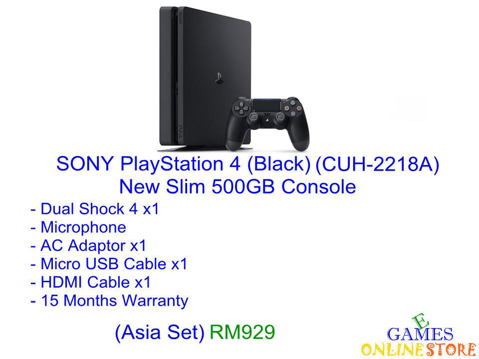 SONY PlayStation 4 500GB Console (Asia Set) ★Brand New & Sealed&..