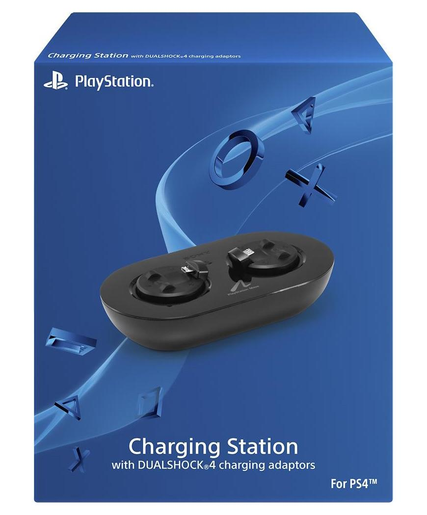 Sony Playstation Move Charging Station with DualShock 4 Adapters