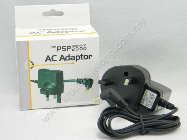 SONY PSP 1000 2000 3000 5V AC Adaptor Travel Charger ~Ready Stock
