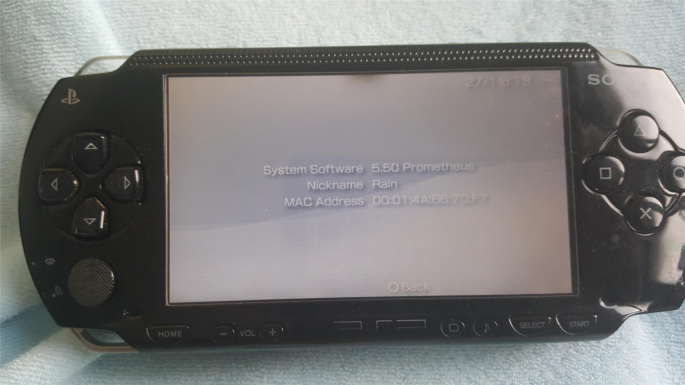 Psp 1000 Psp 2000 : Sony psp working end am