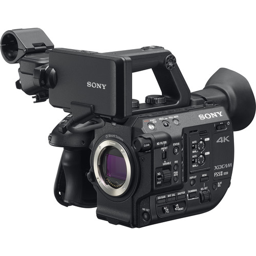 Sony PXW-FS5M2 with 18-105mm Zoom Lens 4K XDCAM Super35mm Compact