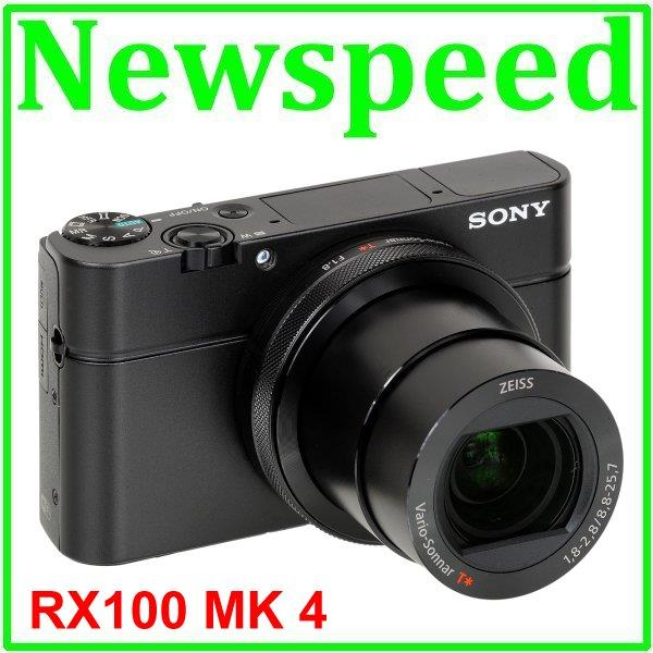 Sony RX100 MK IV MK4 + 16GB + Case + Ext Ori Battery (MSIA)