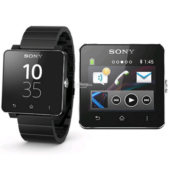 Sony Smart Watch 2 SW2 Black Steel Wrist Band