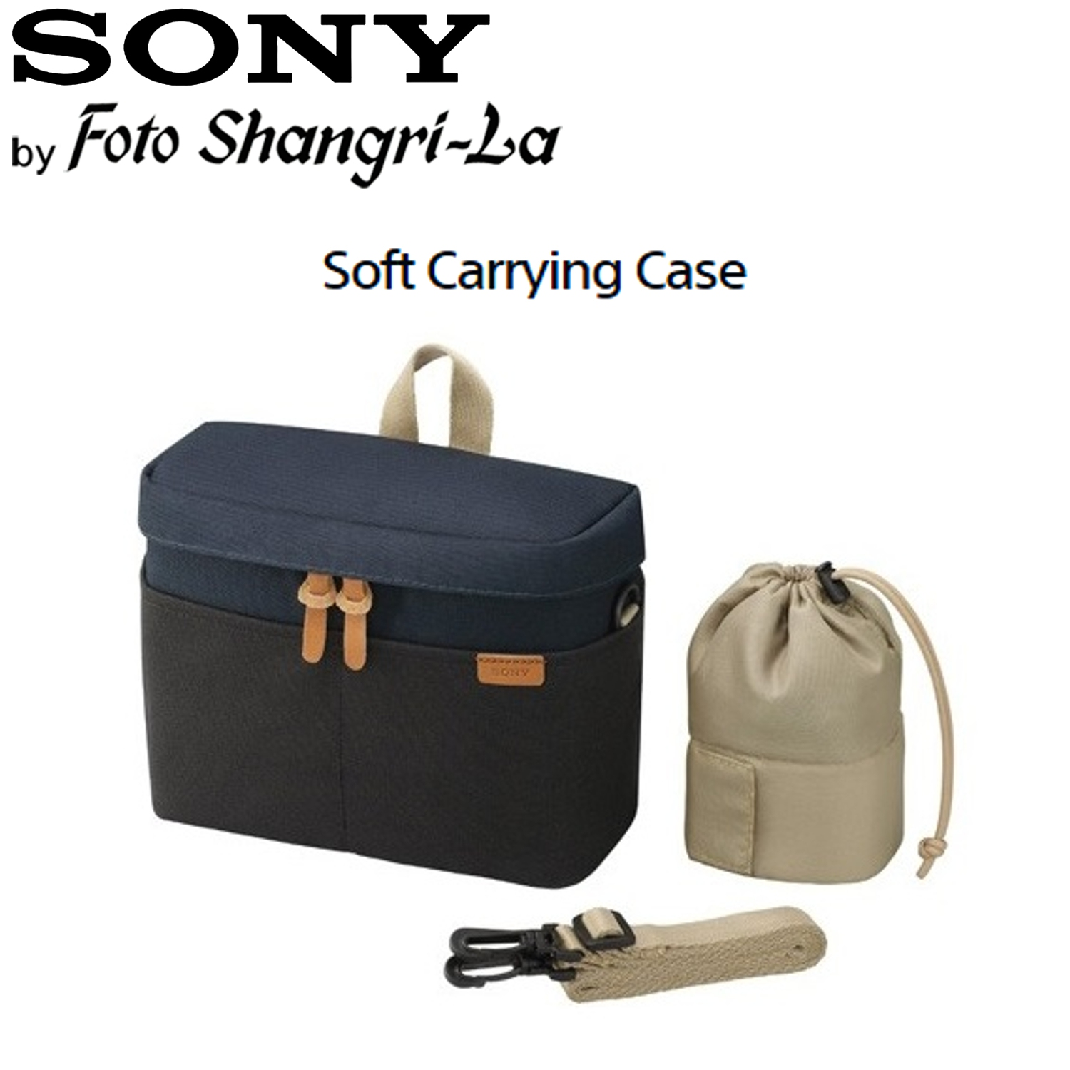 Sony Soft Carrying Case Bag for Mirrorless Digital Camera - LCS-BBK