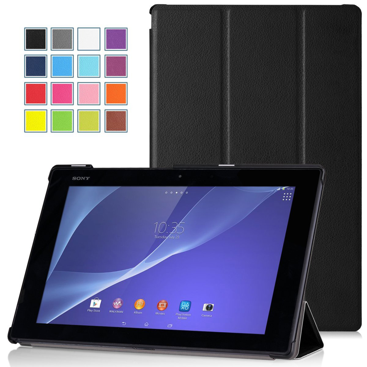 Sony SONY Xperia Tablet Z2 Smart Sleep leather Case Casing Cover