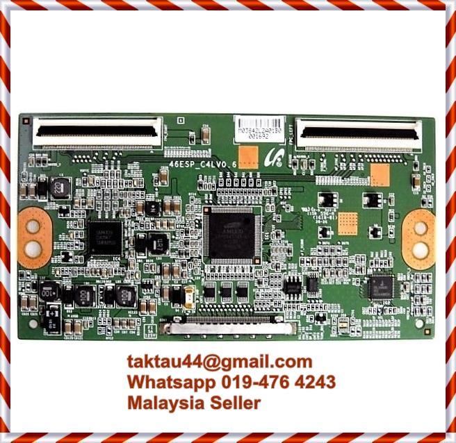 Sony TV KLV-46BX450 TCon T-Con Logic Board 46ESP_C4LV0 6