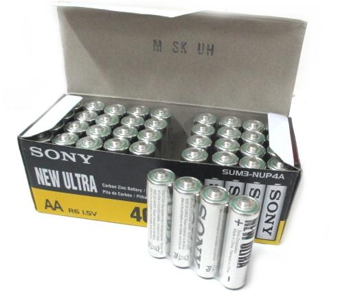 *Sony New Ultra 1.5V Battery ^Batteries AA batteries 40pcs