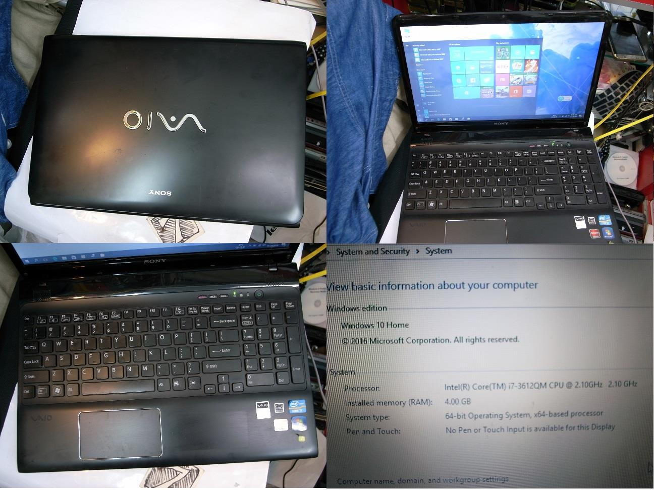 Sony VAIO E i7 Gen 3rd 640GB ATI Mobility Gamming Notebook Rm1480