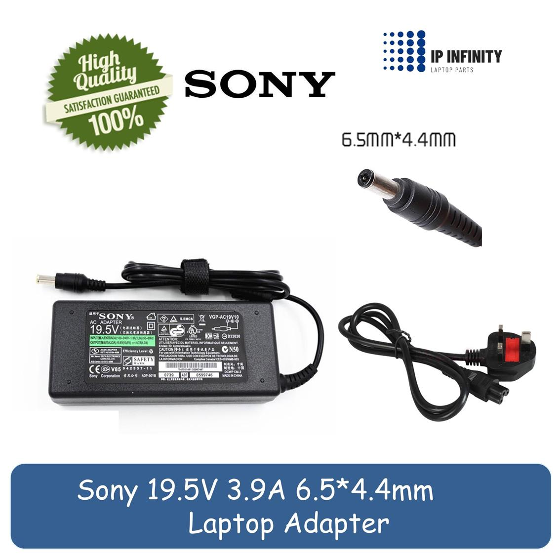 Sony Vaio PCG-3E7P 31311W 61412W 7Z1M VGN-CR23G CS36GJ Adapter Charger