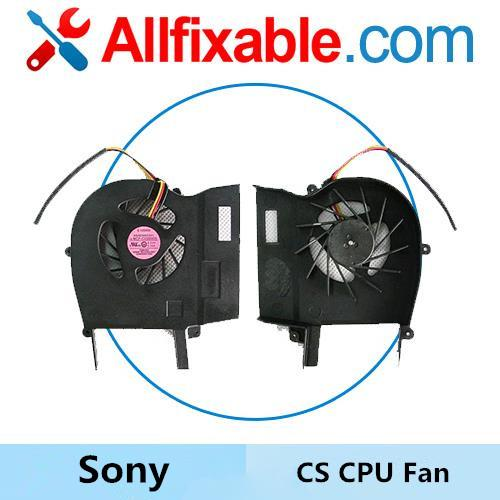 Sony VGN-CS209JQ CS215JR CS220DW CS230JQ CS260JP CS280JR CPU Fan