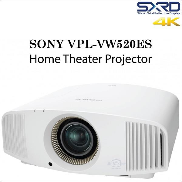 Sony VPL-VW520ES 4K Home Theater Projector