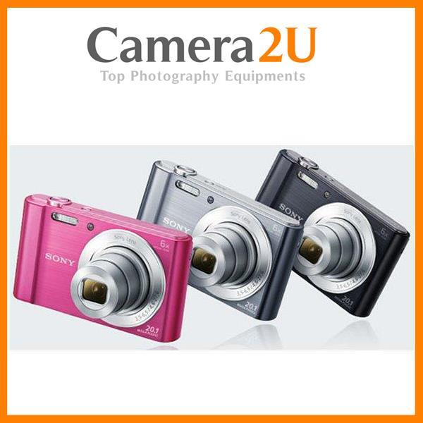 Sony W810 Cybershot 20MP 6X Optical DSC-W810 Digital Camera +8G+Case. ‹ › a93a56c6a284