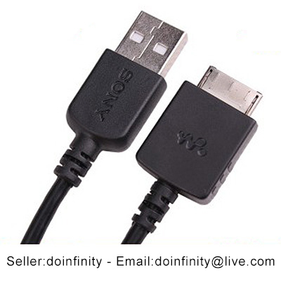 sony mp3 player. sony walkman nwz mp3 player usb charge data sync charger cable cord mp3