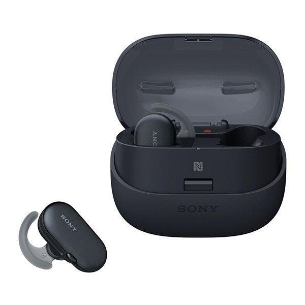 Sony WF-SP900 Sports Wireless Earbuds In-Ear Headphones Ambient Sound  (Black)