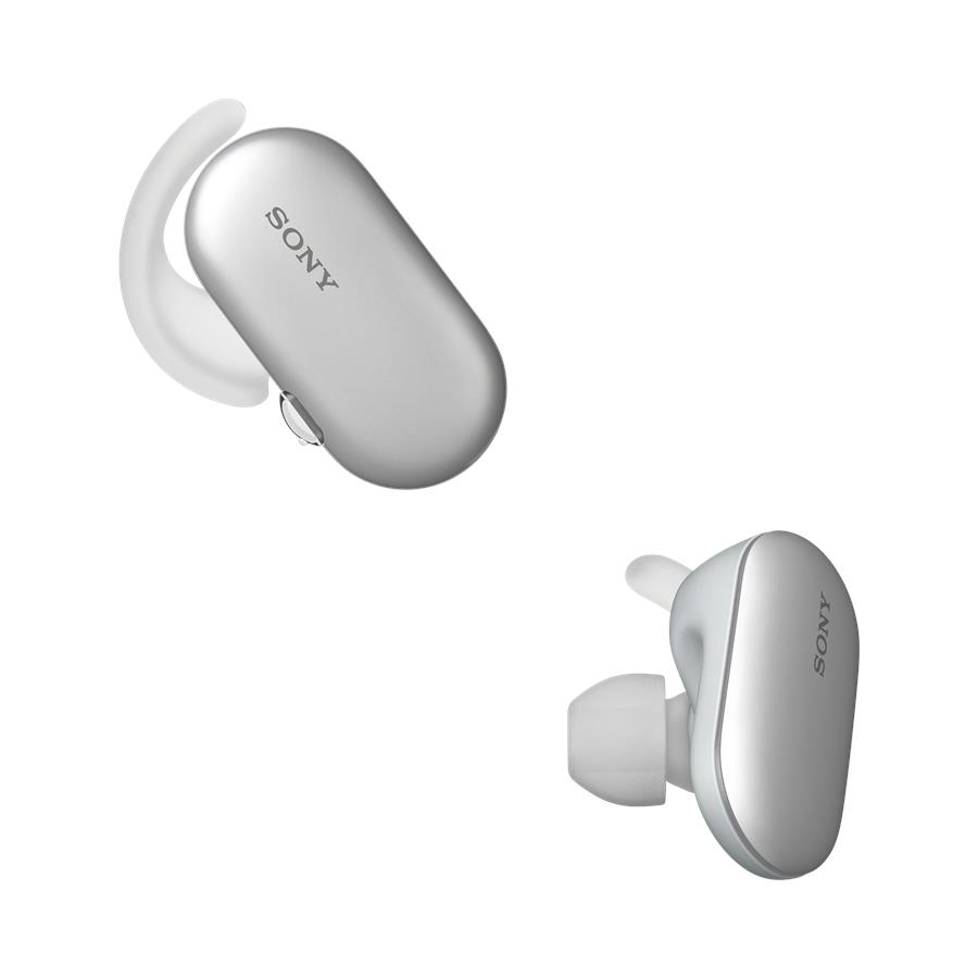 Sony WF-SP900 Sports Wireless Earbuds In-Ear Headphones Ambient Sound (White)