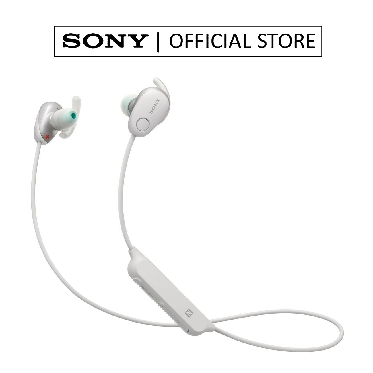 Sony WI-SP600N Wireless Noise-Cancelling In-Ear Sports Headphones
