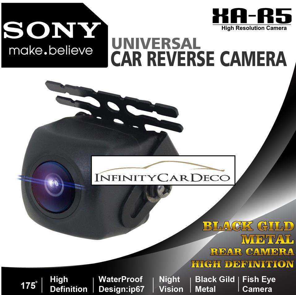 Sony XA-R5 175° Wide Angle Night Vision Car Reverse Camera