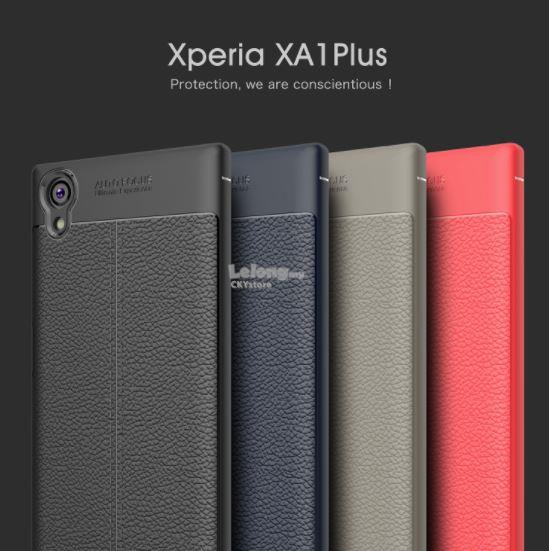SONY XA1 PLUS Anti-fingerprint Shockproof Slim TPU Case