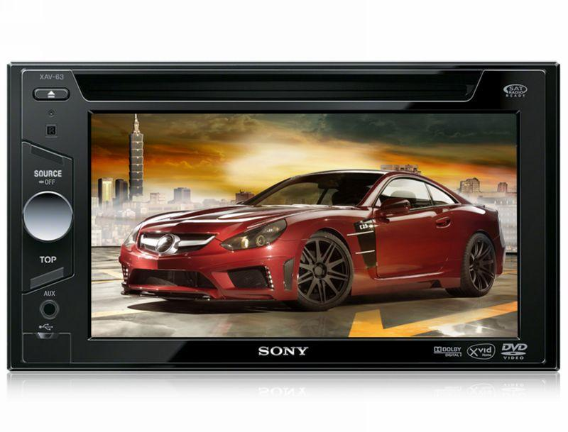 Sony XAV-63 6.1' Touch Screen Car DVD USB iPhone iPod Headunit Player