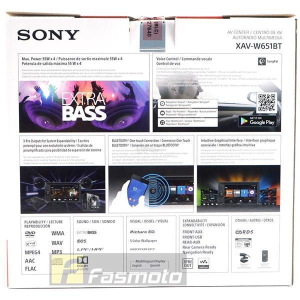 Sony XAV-W651BT 6 2