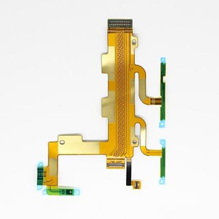 Sony Xperia C3 D2533 Main Power On Off Volume Mic Ribbon Flex Cable