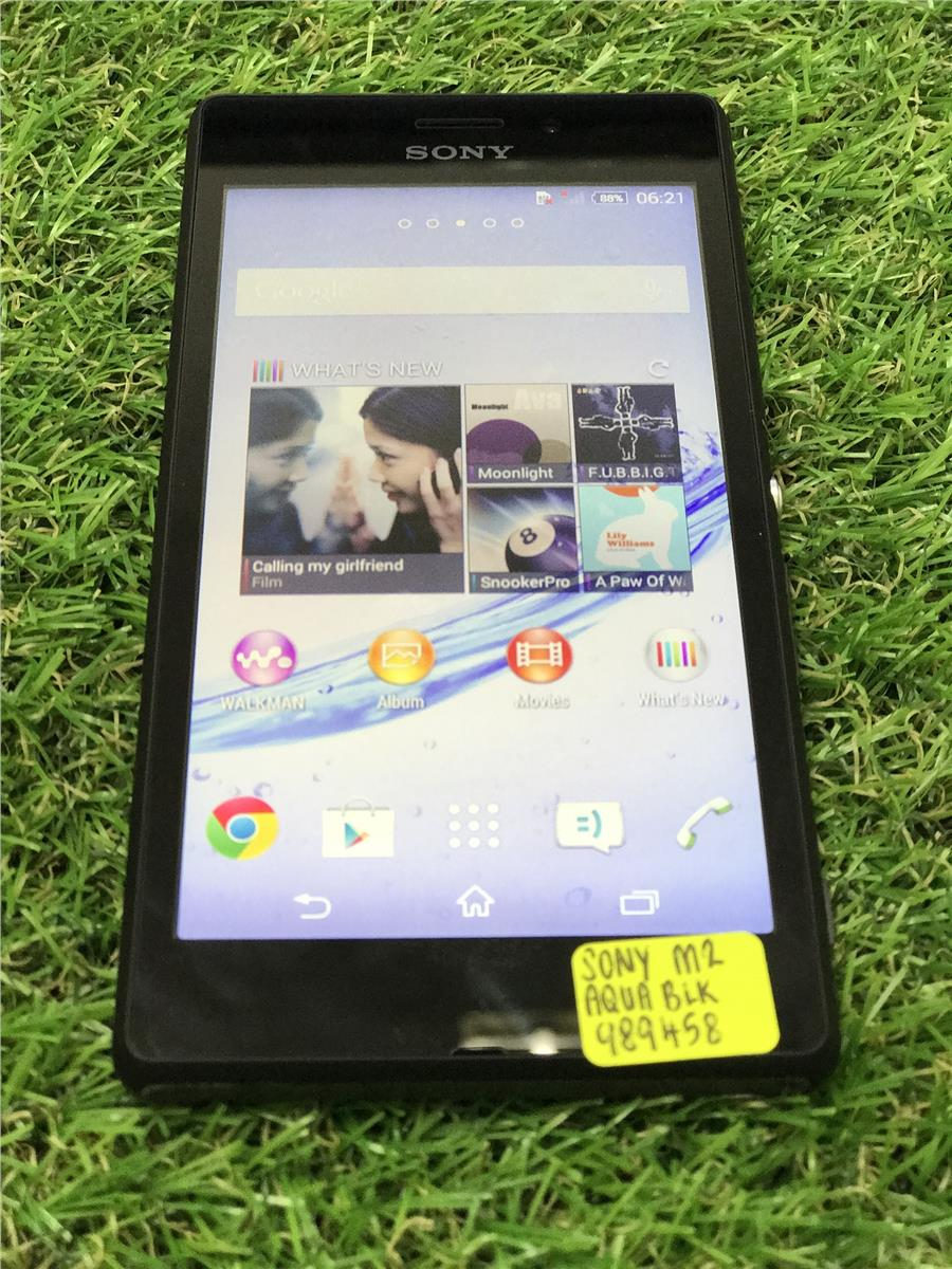 SONY XPERIA M2 AQUA USED(PERFECT CONDITION)
