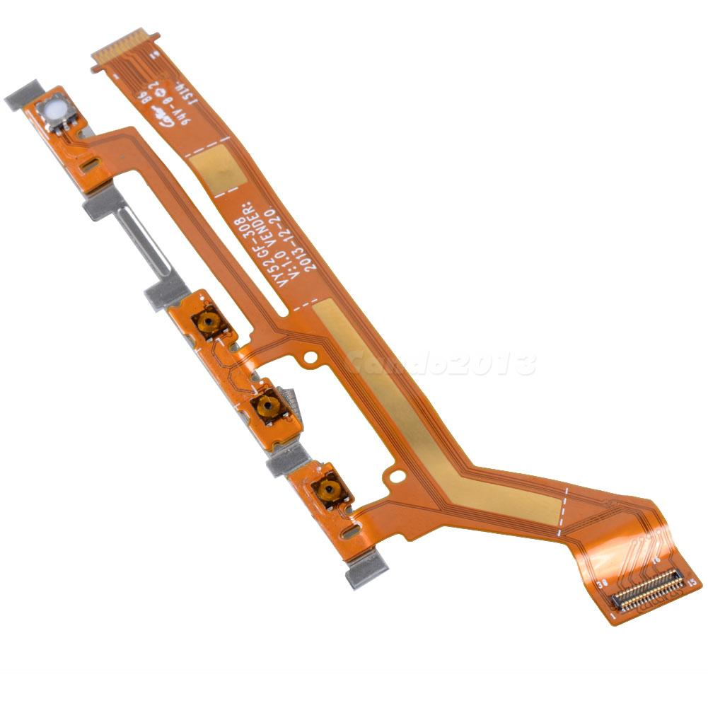 Sony Xperia M2 D2303 Volume On/Off Power Camera Suiz Ribbon Flex Cable