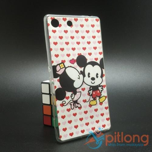check out c4976 0e20a SONY XPERIA M5 Cartoon Soft Tpu Silicon Back Cover Phone Case