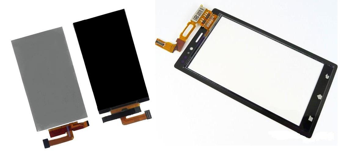 Sony Xperia Sola MT27 MT27i Display Lcd / Digitizer Touch Screen