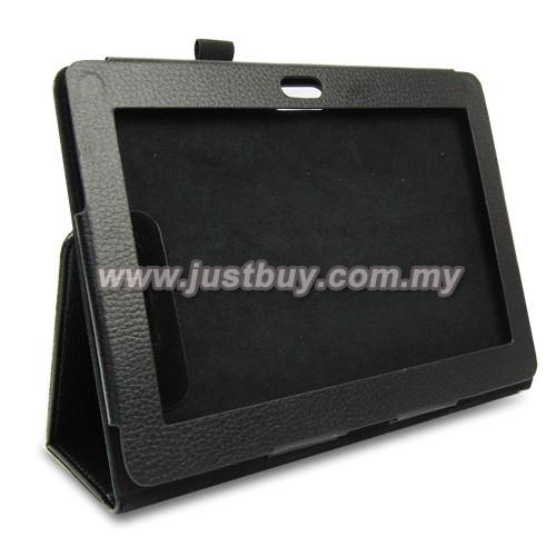 Sony Xperia Tablet S Leather Case - Black