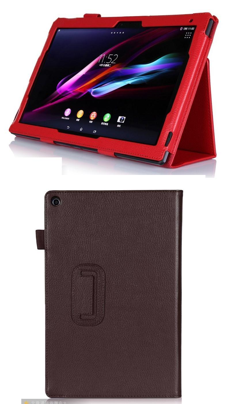 low priced e6348 09738 Sony Xperia Tablet Z Flip Leather Cover Case Xperia Z2 tablet: Best Price  in Malaysia