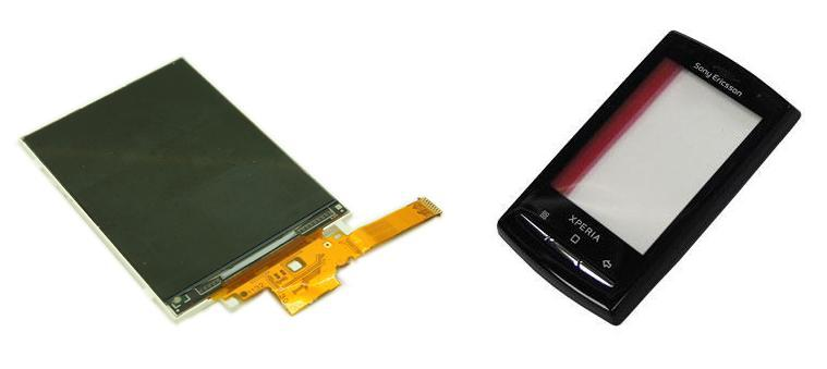 Sony Xperia X10 mini Pro U20 U20i Lcd Display / Digitizer Touch Screen