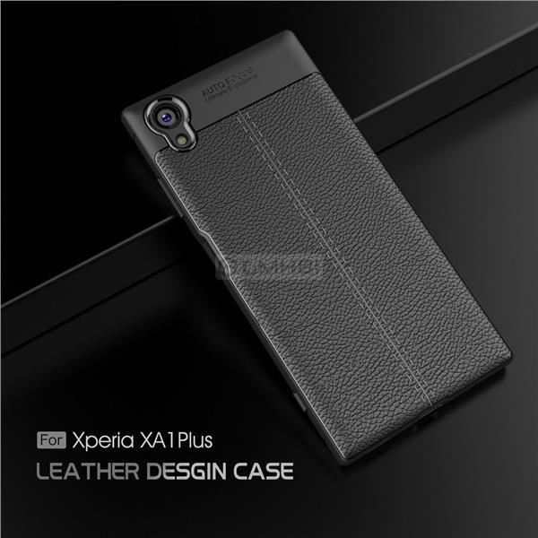 super popular d5b76 70289 Sony Xperia XA1 Plus LYCHEE Rugged Tough TPU Bumper Cover Case